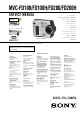 Sony MVC-FD100H Service Manual