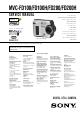 Sony MVC-FD100H Service Manual