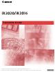 Canon iR2020 Manual