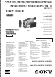 Sony CCD-TRV3E Service Manual
