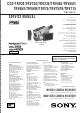 Sony CCD-TRV3E Service Manual