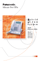 Panasonic KX-T7625 Quick Reference Manual