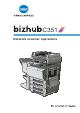 Konica Minolta bizhub C351 Network Scanner Operations