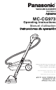 Panasonic MC-CG973 Operating Instructions Manual
