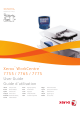 Xerox 7755 User Manual