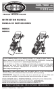 Simpson MSV2623 Instruction Manual
