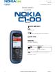 Nokia C1-00 Service Manual