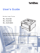 Brother HL-5445D User Manual