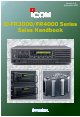 Icom IC-FR3000 Series Sales Handbook