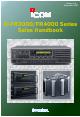 Icom IC-FR3000 Series Handbook