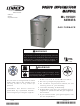 Lennox ML195UH SERIES User's Information Manual