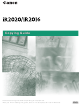 Canon IR2020 Copying Manual
