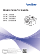 Brother DCP-L2500D Basic User's Manual