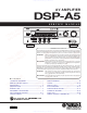 Yamaha DSP-A5 Service Manual