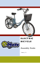 E-MOTO ELECTRIC BICYCLE Assembly Manual