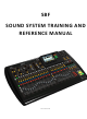 behringer X32 Reference Manual