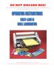 Banner American Easy-lam II Operating Instructions Manual