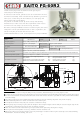Saito FG-60R3 Operating Instructions Manual