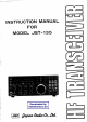 JRC JST-135 Instruction Manual