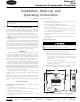 Carrier Debonair 33CS Installation, Start-up, And Operating Instructions Manual
