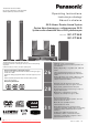 Panasonic SC-PT860 Operating Instructions Manual