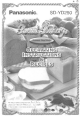 Panasonic Bread Bakery SD-YD250 Operating Instructions And Recipes