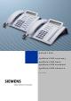 Siemens optiPoint 500 economy User Manual