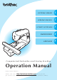 Brother Sewing Machine Operation Manual