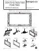 Kenwood DDX7015 Service Manual
