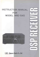 JRC NRD-545 Instruction Manual