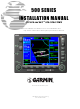 Garmin GPS 500 Installation Manual