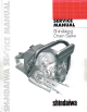 Shindaiwa 300 Service Manual