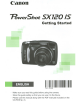 Canon PowerShot SX120 IS Owner's Manual
