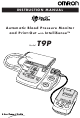 Omron T9P Instruction Manual