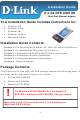D-Link DFE-690TXD Installation Manual