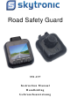SKYTRONIC Road Safety Guard 351.137 Instruction Manual
