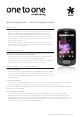 LG P500 Optimus One Quick Start Manual