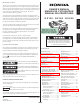 Honda GX120 Owner's Manual