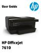 HP Officejet 7610 User Manual
