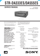 Sony STR-DA333ES Service Manual