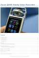 Zoom Q2HD User Manual