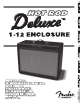 Fender Hot Rod Deluxe Owner's Manual