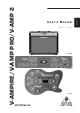 Behringer V-Ampire User Manual