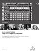 Behringer ULTRAGRAPH PRO FBQ1502 User Manual
