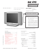 Sanyo DP15647 Service Manual