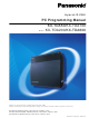 Panasonic KX-TDA50 Programming Manual