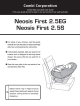 Combi Neosis First 2.5 EG User Manual