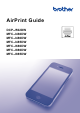 Brother DCP-J562DW Airprint User Manual