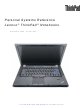 Lenovo ThinkPad Personal Systems Reference