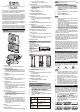 Oregon Scientific EW98 User Manual